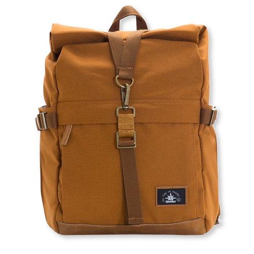 Biker backpack Brown