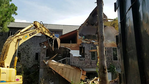 Demolition video of Conquest Ave, Sullivans Island