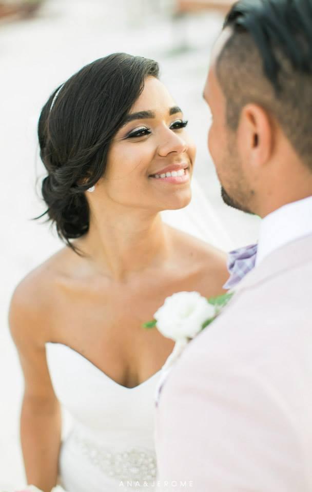 Destination Airbrush Wedding Makeup