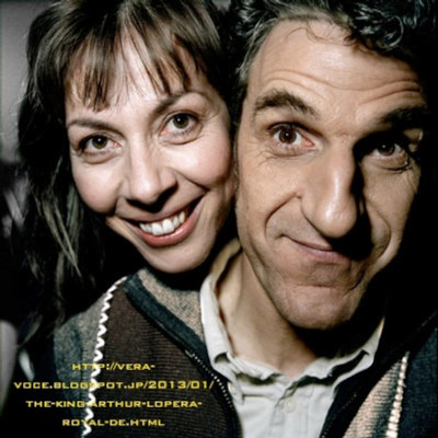Geneve le 8 avril 2006 Shirley et Dino acteur© Steeve Iuncker / VU