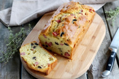 Le cake jambon olives de 750g.com, on dit… miam miam !