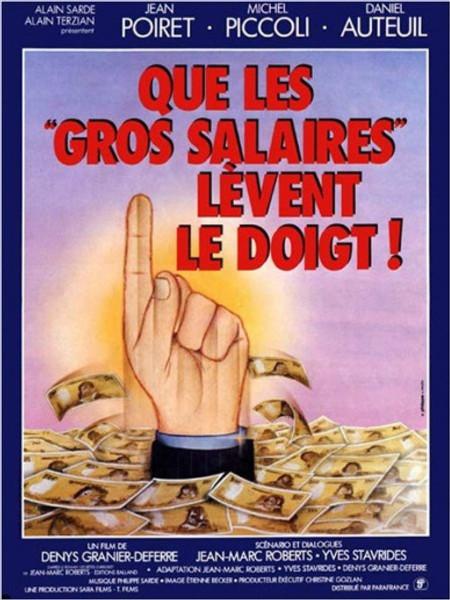 Salaires affiche