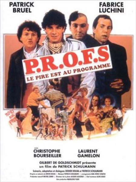 PROFS affiche