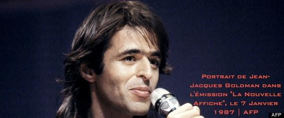 Portrait du chanteur Jean-Jacques Goldman rÈalisÈ dans le cadre de l'Èmission '' La Nouvelle Affiche'' consacrÈe ‡ ce dernier, le 7 Janvier 1987, au Palais des Sports de la ville de Bordeaux.