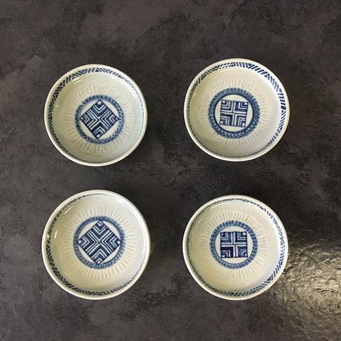 豆皿セット(径8〜8.5cm高1.7〜2.3cm)