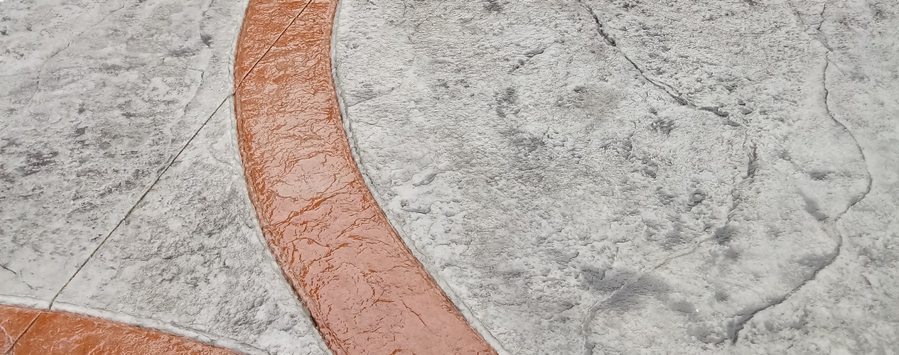 Heavy stone and Chiseld slate