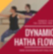 Dynaic Hatha Flow Yoga in Woking