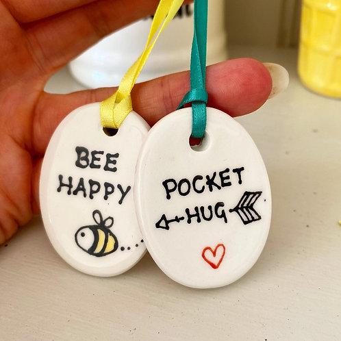 Bee Happy (Keyring)