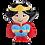 Thumbnail: Tiny Tot Supergirl