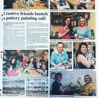 We made into Woking News and Mail this w