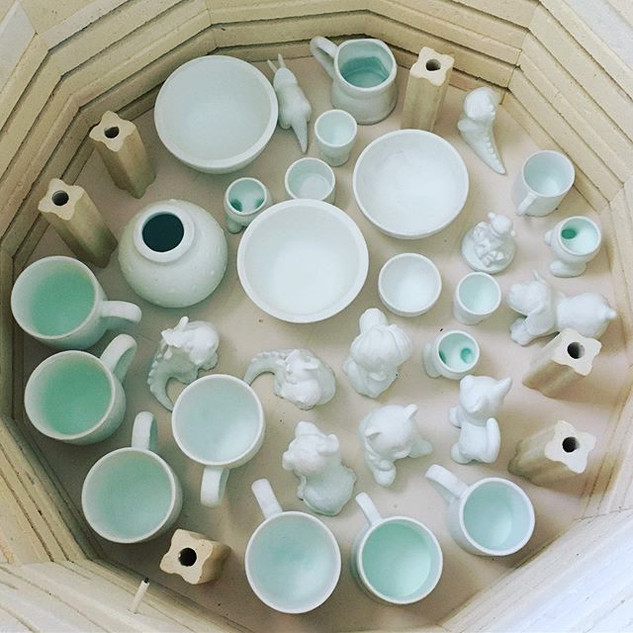 Want to know what the inside of a kiln l