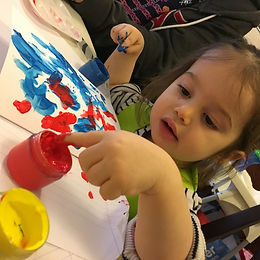 pre-school painters - toddler sessions