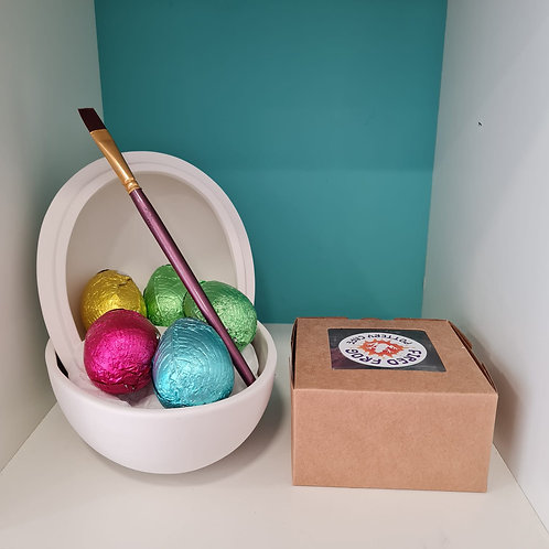 Large Easter Egg Box KIT (With paints)