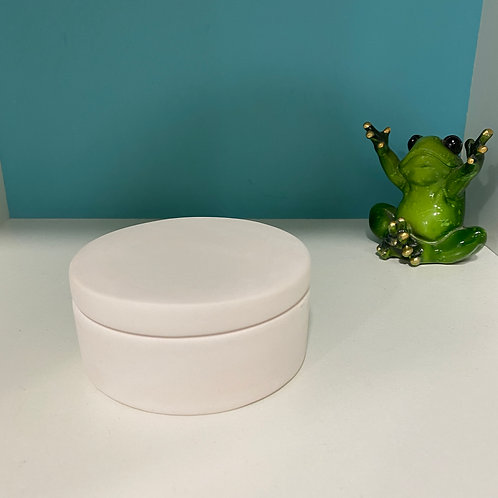 Small Round Box with Lid