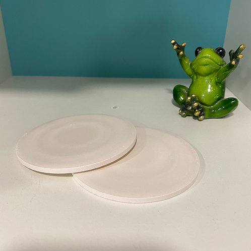 Two Round Coasters