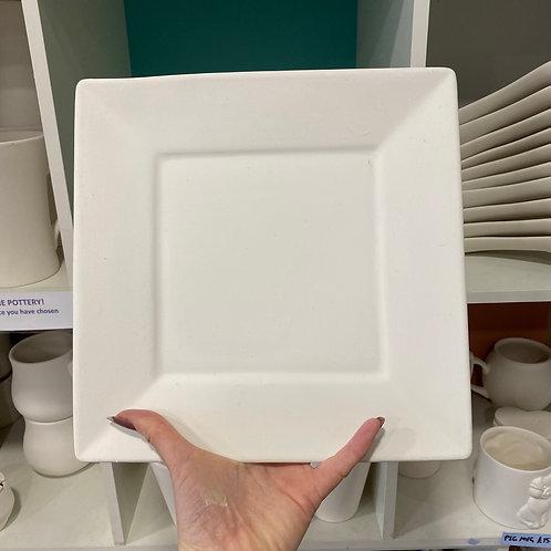Rimmed Square Plate 26cm