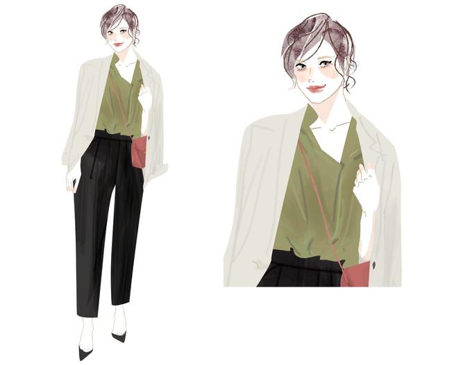 ATSUGI「カルソン」サイトイラスト