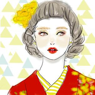 集英社様「MAQUIAオンライン新春占い」イラスト担当しました。