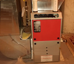 Installed Napolean Furnace