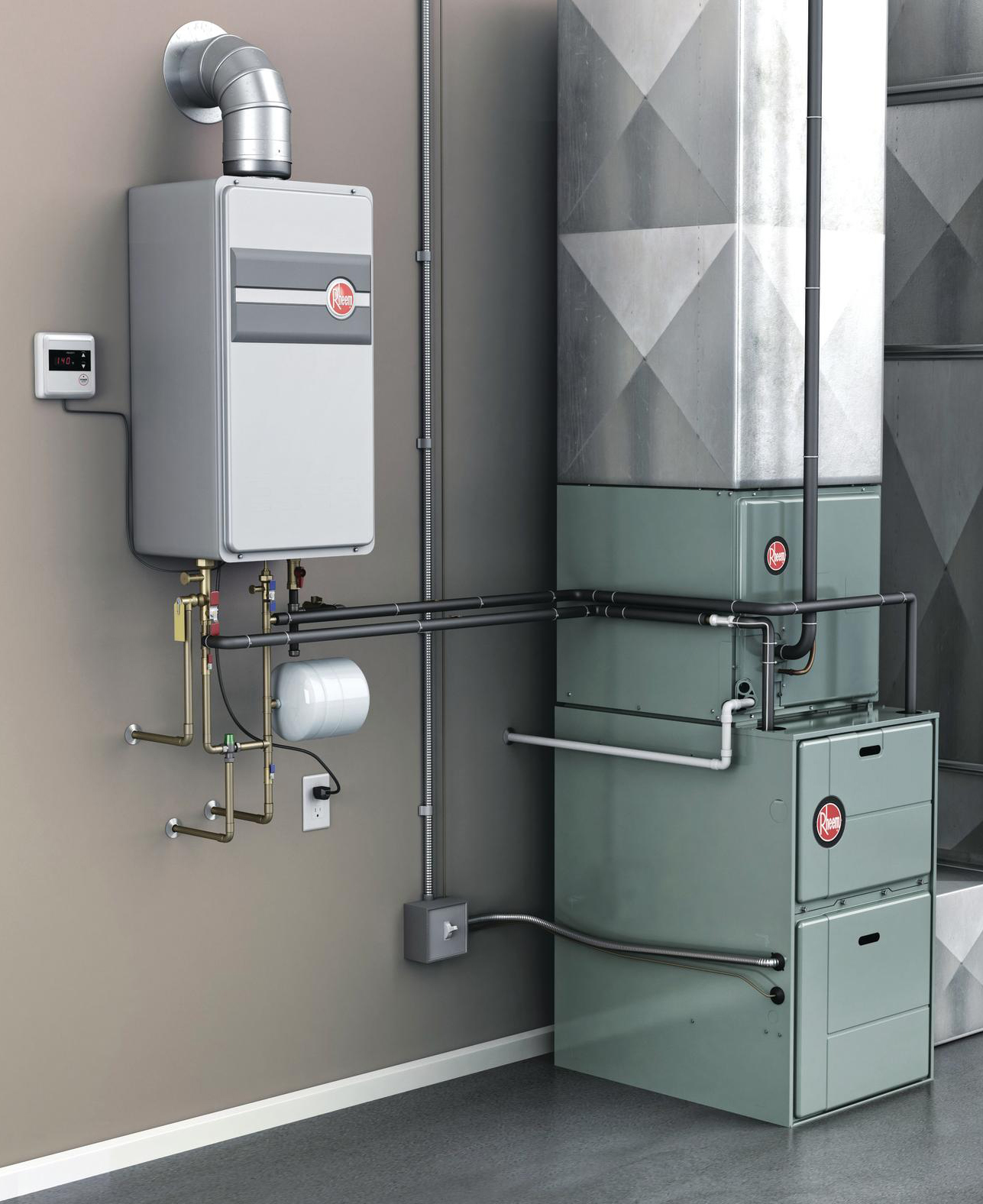 Tankless Hot Water System