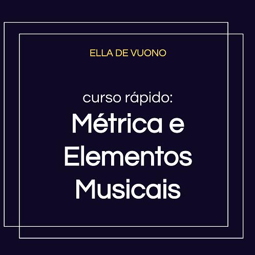 Métrica e Elementos Musicais
