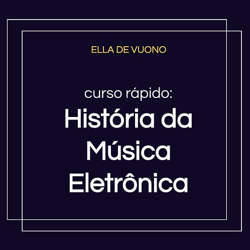 História da Música Eletrônica