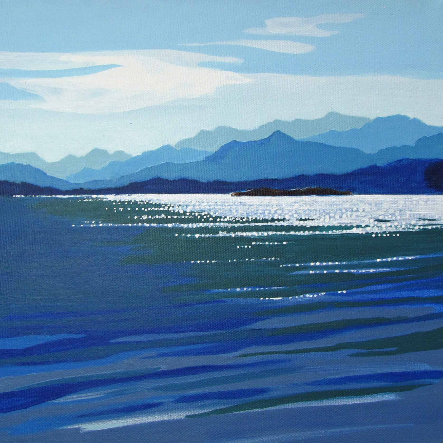 Into the Blue     ** FEATURED IN ARTFUL COLLECTIVE'S CHRISTMAS GIFT GUIDE 2020  **