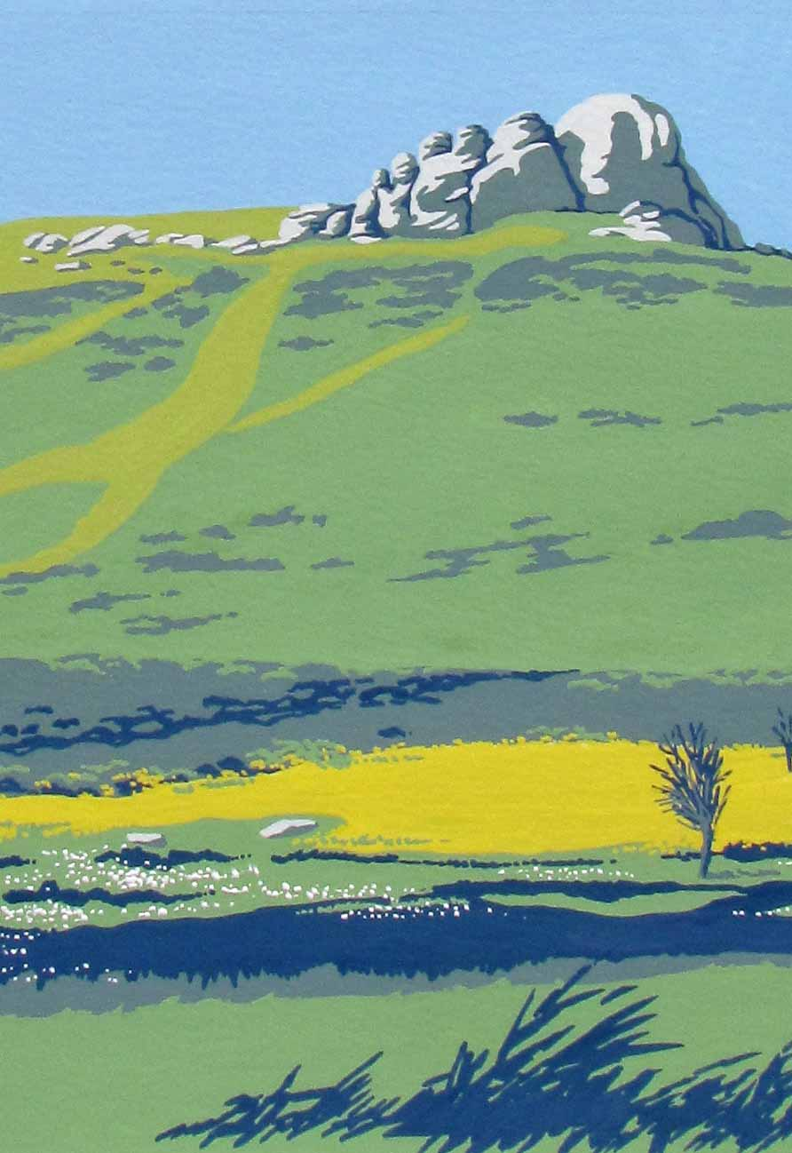 Haytor in the Heat