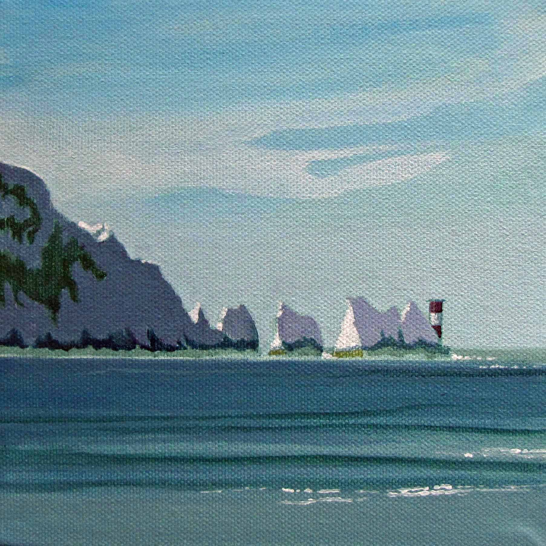 The Needles, Near
