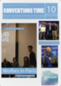 Magazine Wolfies in Paris, Back to the Rivercourt, People Convention, Royal Events