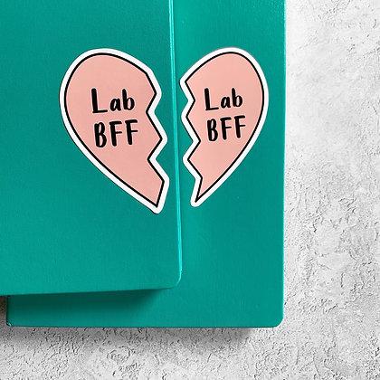 Lab BFF Sticker Set