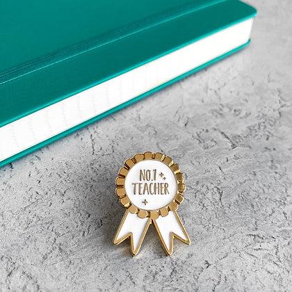 Best Teacher Award / Gift Enamel Pin Badge