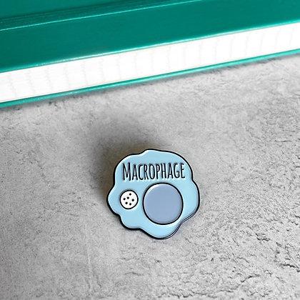 Macrophage Enamel Pin Badge