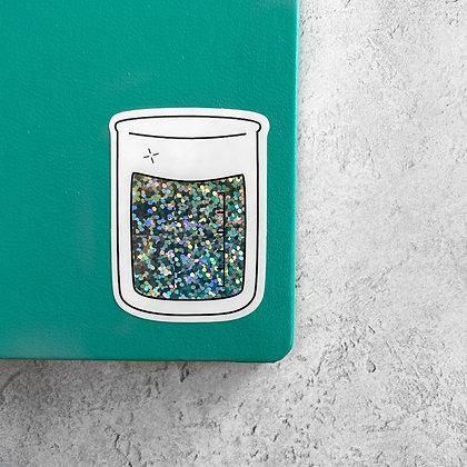 Lab Beaker Sticker