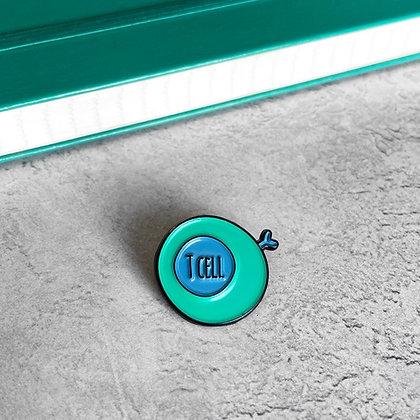 T Cell / Lymphocyte Enamel Pin Badge
