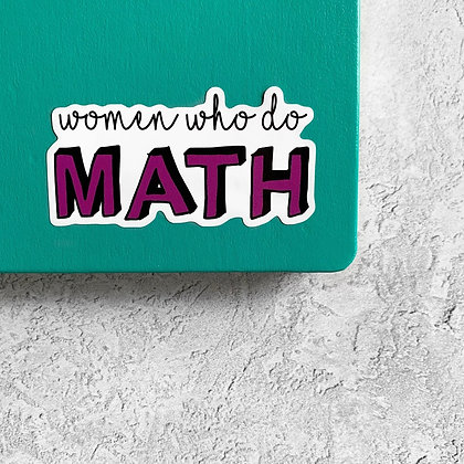 Women Who Do Math
