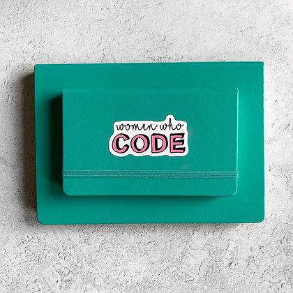 Women Who Code Sticker