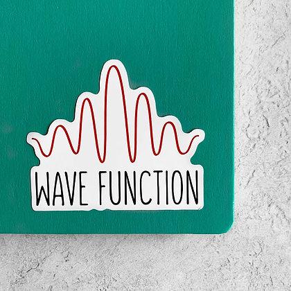 Wave Function Sticker