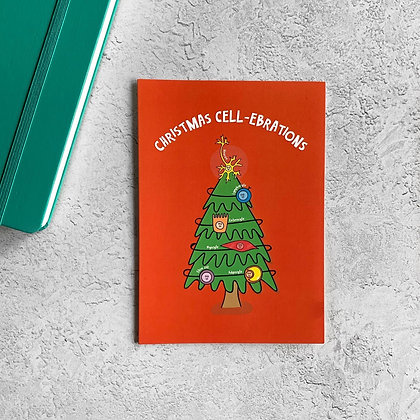Christmas Cell-brations Card