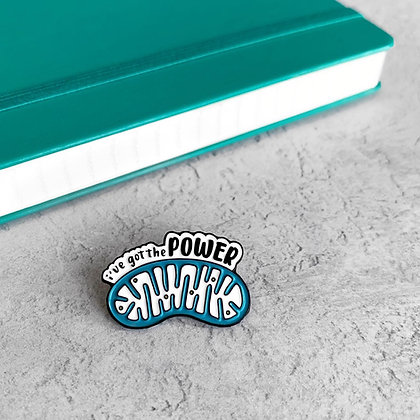Mitochondria Enamel Pin Badge
