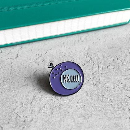 Natural Killer Enamel Pin Badge