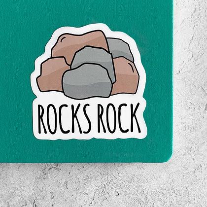 Rocks Rock Sticker