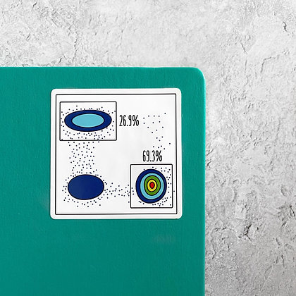 Flow Cytometry Sticker
