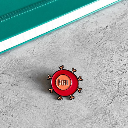 B Cell / Lymphocyte Enamel Pin Badge