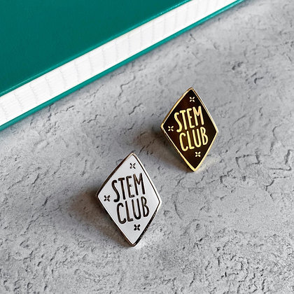 STEM Club Enamel Pin Badge