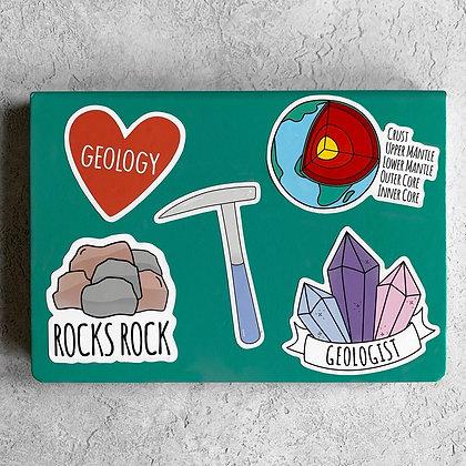 Geology Sticker Pack
