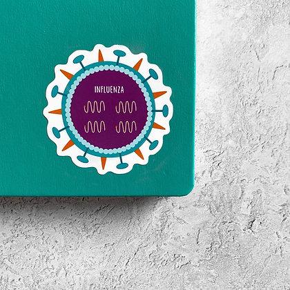 Influenza Sticker