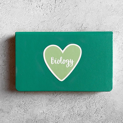 Biology Heart Sticker