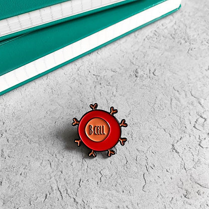B Cell / Lymphocyte Enamel Pin Badge