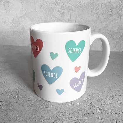Science Heart Mug